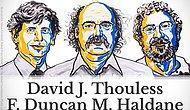 2016 Nobel Fizik Ödülü'nün Sahipleri Belli Oldu