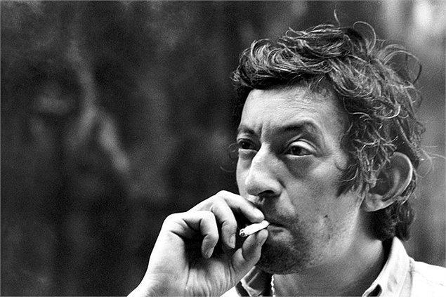 10. Serge Gainsbourg her çirkin erkeğin rol modeli oldu! Karizmatik, çekici ve seksi olmak için yakışıklılığa gerek olmadığını gösterdi.