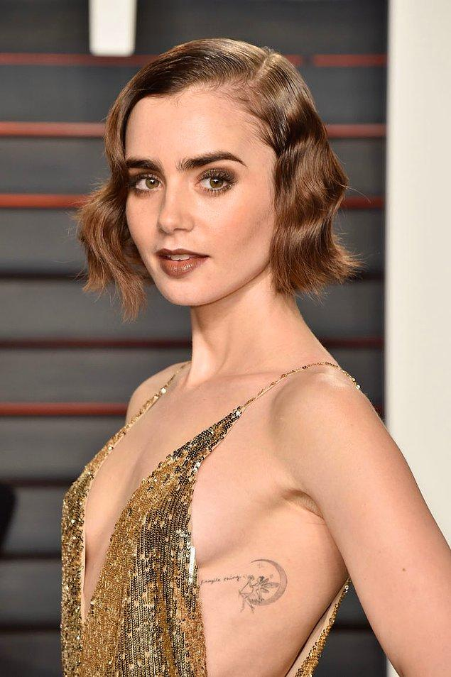 7. Lily Collins