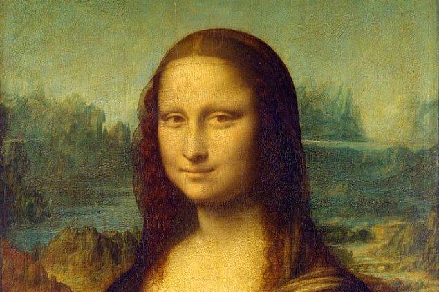 """1. Evet, kolay bir soru ile başlayalım: """"Mona Lisa"""" hangi büyük sanatçının eseri?"""
