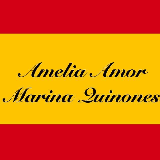 Amelia Amor Marina Quinones!