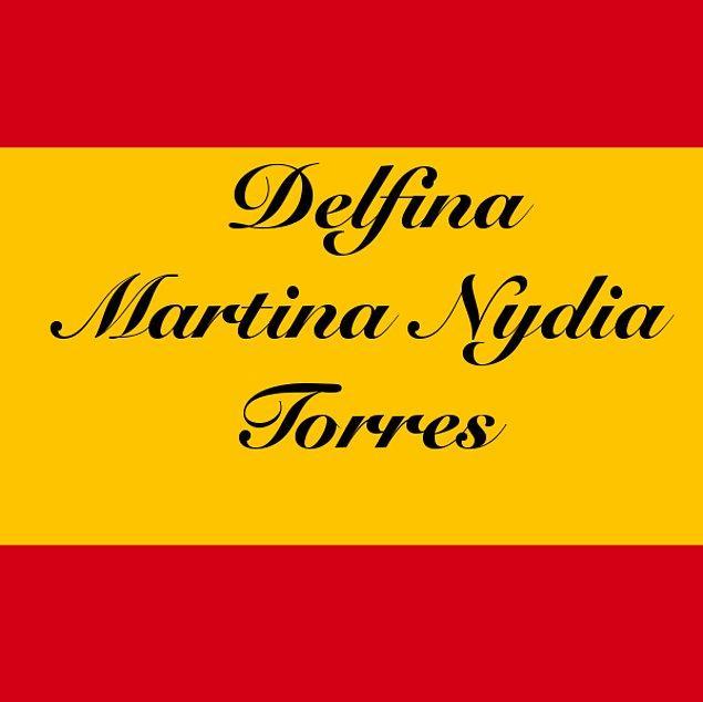 Delfina Martina Nydia Torres!