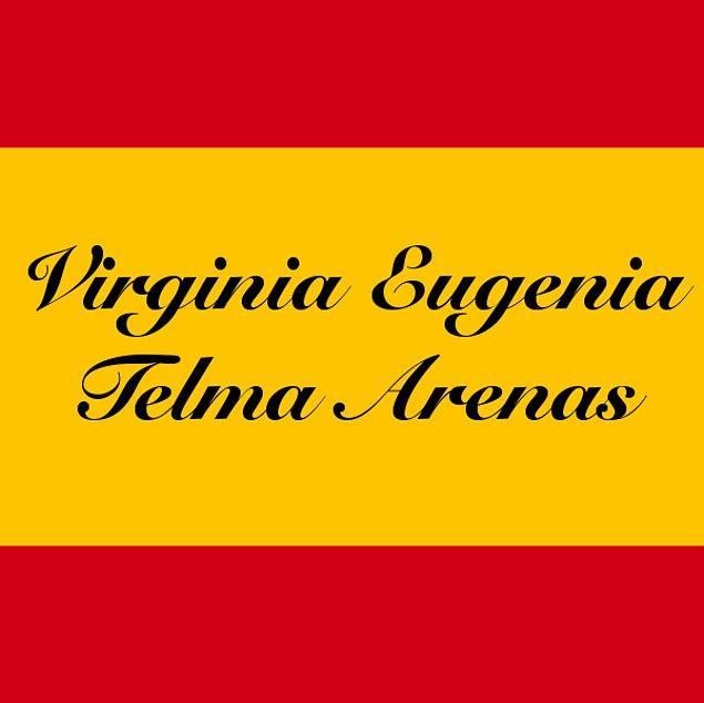 Virginia Eugenia Telma Arenas!