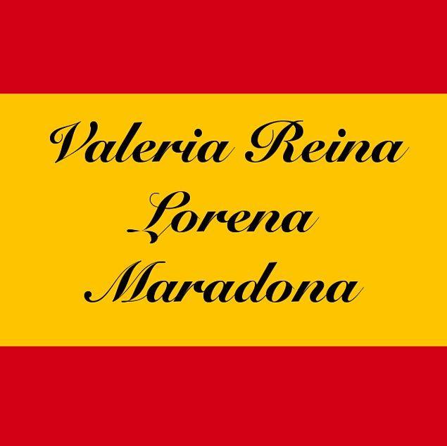 Valeria Reina Lorena Maradona!