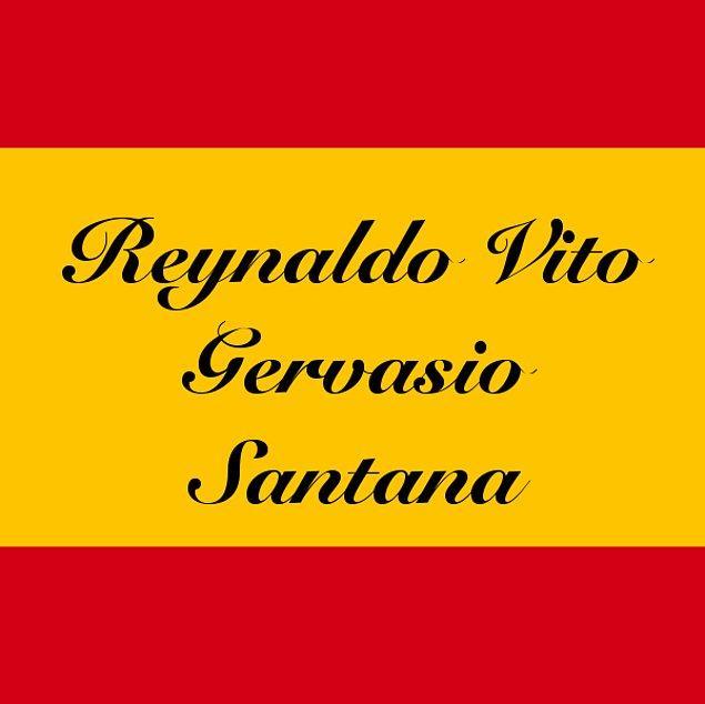 Reynaldo Vito Gervasio Santana!