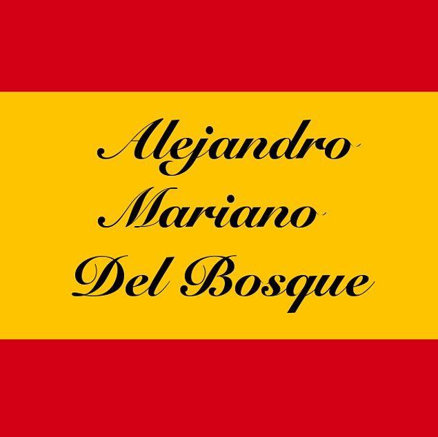 Alejandro Mariano Del Bosque!