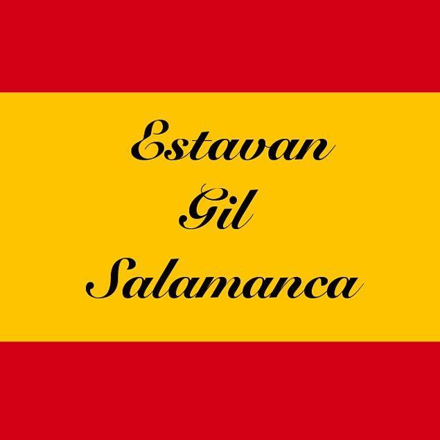 Estavan Gil Salamanca!