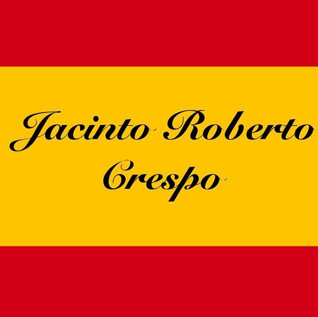 Jacinto Roberto Crespo!