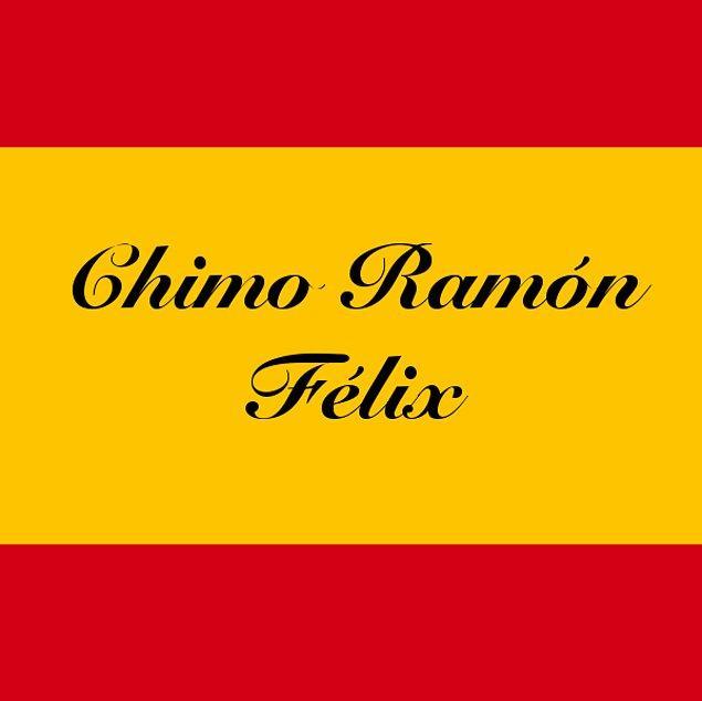 Chimo Ramón Félix!