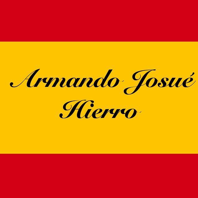 Armando Josué Hierro!