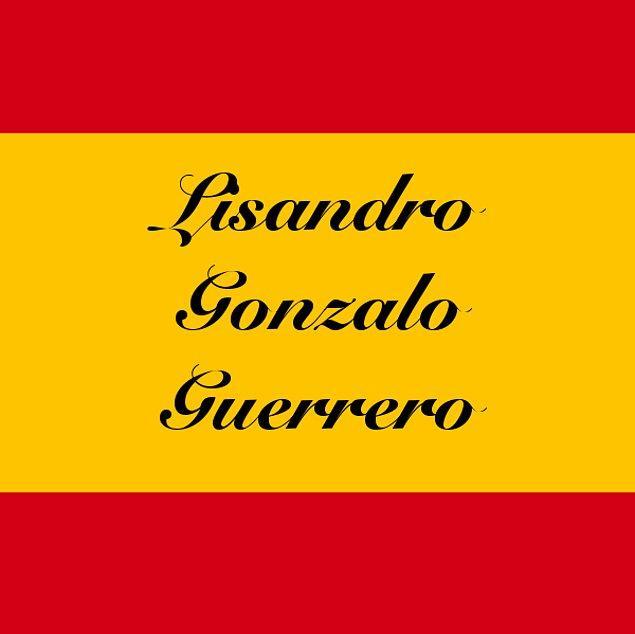Lisandro Gonzalo Guerrero!