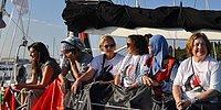 Gazze'ye Yardım Götüren Kadın Aktivistler Gözaltında...