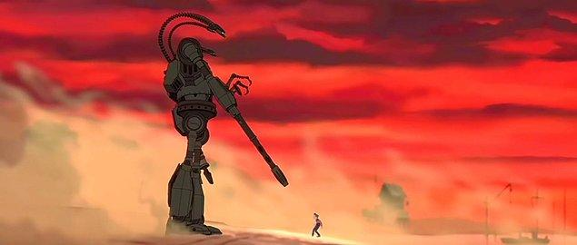 9. The Iron Giant / Demir Dev