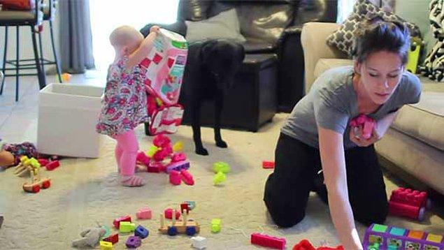 Aile ya da çocuk sahibi olan kadınlar eskisine göre evde daha çok vakit geçirmek zorunda kalıyor.