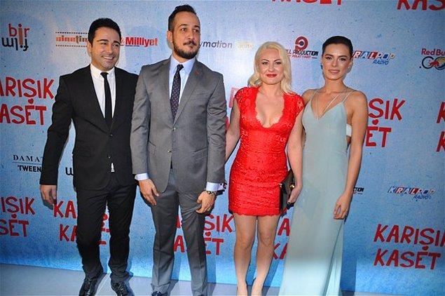 Çift, daha önce Kasım 2014'te vizyona giren Karışık Kaset filminin galasına katılmış, basına birlikte poz vermişti.