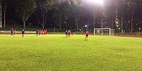 Gol Vuruşunu Gol Sevinciyle Birleştiren Akrobatik Futbolcu