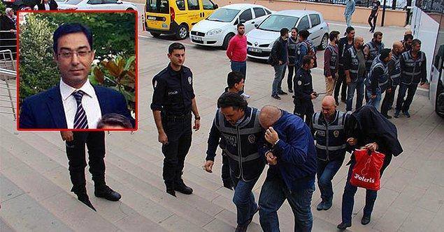 Önce açığa alındı, önceki gün de polis ekipleri tarafından gözaltına alındı.
