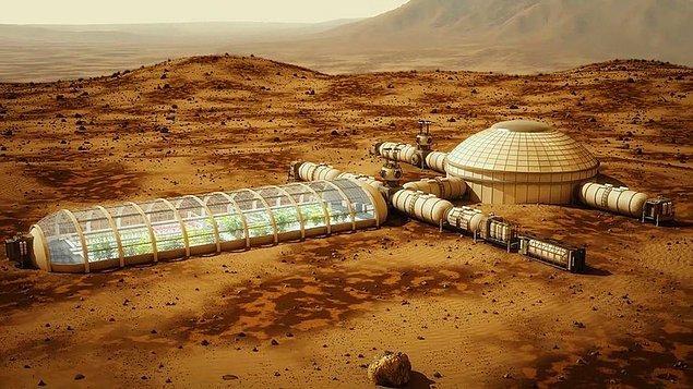 """""""Mars'a gitmek, hükümet ve özel şirketlerin işbirliğini gerektirecek. Bu yolda ilerliyoruz"""""""