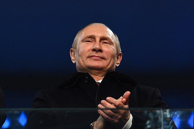 Fakat Putin'in anketteki liderliği sürpriz değil.