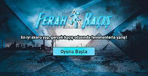 Türkiye'nin En Büyük Kaçış Odasında Fenomenlerle Yarışmaya Var Mısın?
