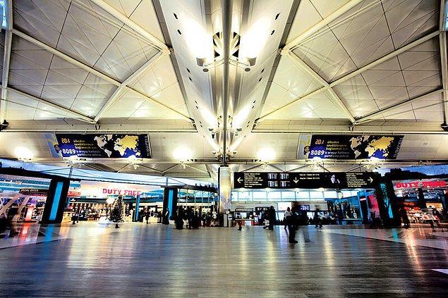 İstanbul Atatürk Havalimanı da en popüler tanışma noktalarından biri
