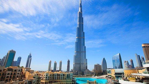 Burj Khalife sizlerin hayallerini gerçekleştiriyor.