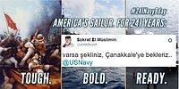 Amerikan Donanması'nın Türk Bayraklı Paylaşımına Tepkisini Gösteren 19 Kişi