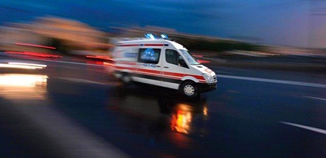 Eve gelen ekiplerin ilk müdahalesinin ardından hastaneye kaldırılan Elif bebek kurtarılamadı...