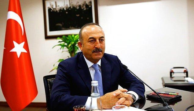 Görüşmelere Türkiye adına Mevlüt Çavuşoğlu katıldı
