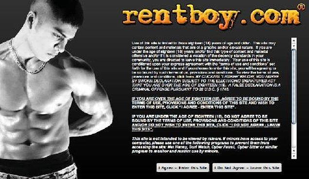 The Hookies ödülleri rentboy.com adlı bir internet sitesi tarafından düzenleniyor. Popülerliği giderek artan site erkek eskortları çoğu eşcinsel olan ve sayıları günde 60000'i bulan ziyaretçiyle bir araya getiriyor.