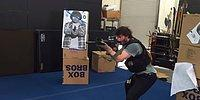 Keanu Reeves'in Yeni Filmi 'John Wick 2' İçin Aldığı Silah Eğitimi Görüntüleri