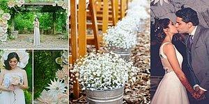 """Pinterest'te Gördüğü """"Kendin Yap"""" Temalı Tasarımları Düğününde Uygulayan Hintli Çift"""