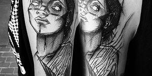 Polonyalı Dövme Sanatçısının Yaptığı ve Adeta Bir Eskiz Havasında Olan 20 Harika Dövme