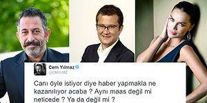 Ateş Et ve Unut! Cem Yılmaz ve Cengiz Semercioğlu Twitter'da Birbirine Girdi!