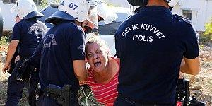 Deprem Tatbikatında Kendini Rolüne Fazla Kaptırıp Bayılan Kadın