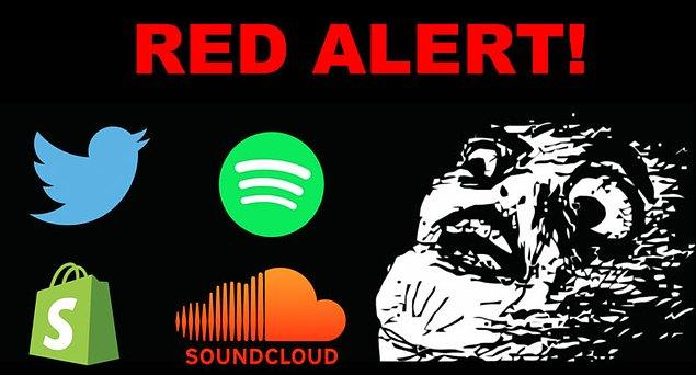 Reddit, Twitter, Etsy, Github, Soundcloud, Spotify...