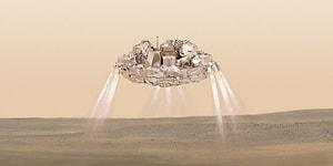 Kızıl Gezegen'den Kötü Haber: Kayıp Schiaparelli'nin Enkazını NASA Buldu