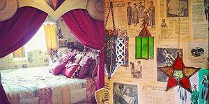 18.000 TL'ye Hayallerindeki Nostaljik ve Minnoş Karavan Tipi Eve Sahip Olan Genç Kadın