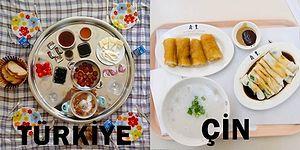 Aynı Dünyada Yaşayan İnsanların Ne Kadar Farklı Kültürleri Olduğunu Gösteren 23 Kahvaltı
