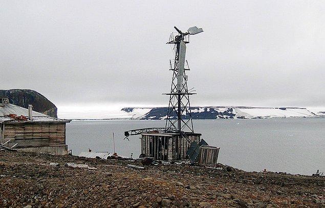 27. Rus Araştırmacıların Kuzey Kutup Dairesinde Bulduğu Gizemli Yapı: Nazi İstasyonu