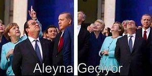 """""""Aleyna Geçiyor"""" Akımına Kayıtsız Kalamamış ve Sosyal Medyada Parmak Göstermiş 17 Kişi"""