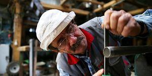 Tek Hobisi İcat Yapmak Olan 'Kum Mucit'in Hedefi Guinness'e Girmek