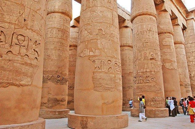 Büyük Hipostil Salonu - Mısır