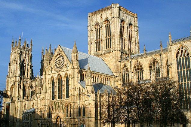 York Minster Katedrali - İngiltere
