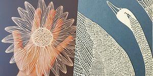 Yalnızca Kağıt Keserek Sanatsal Üretimin Dibine Vuran Sanatçıdan 15 İmkansız Çalışma