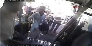Klimayı Soran Yolcuya Bıçak Çeken Metrobüs Şoförünün Görüntüleri Ortaya Çıktı