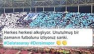 Galatasaray Kazandı! Tribünde Galatasaray ve Dersimspor Taraftarları Dostluk Rüzgarları Estirdi
