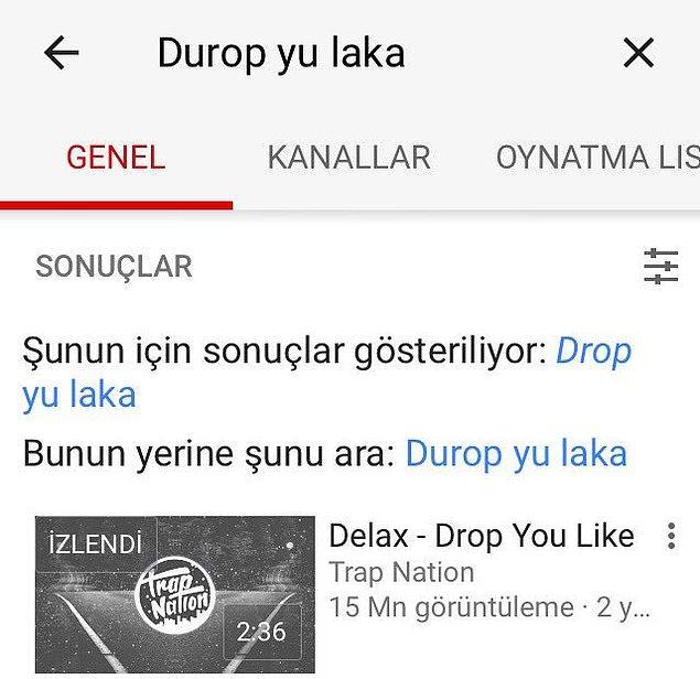8. Drop the base