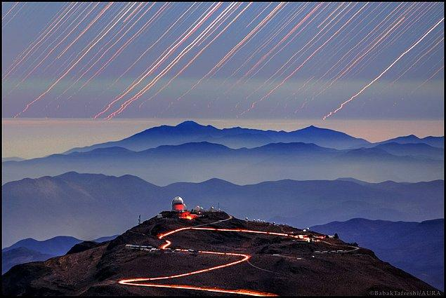 20. Cerro Tololo'daki İzler