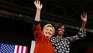 Michelle Obama ve Hillary Clinton'dan Bir İlk